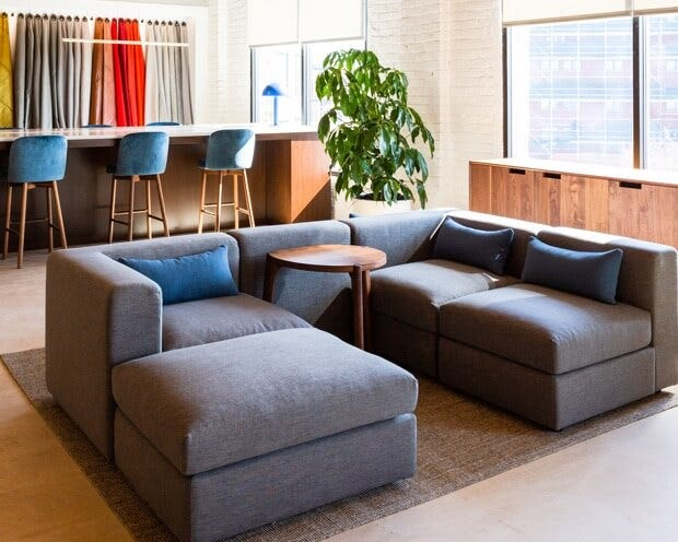 Toby modular sofa | Office space