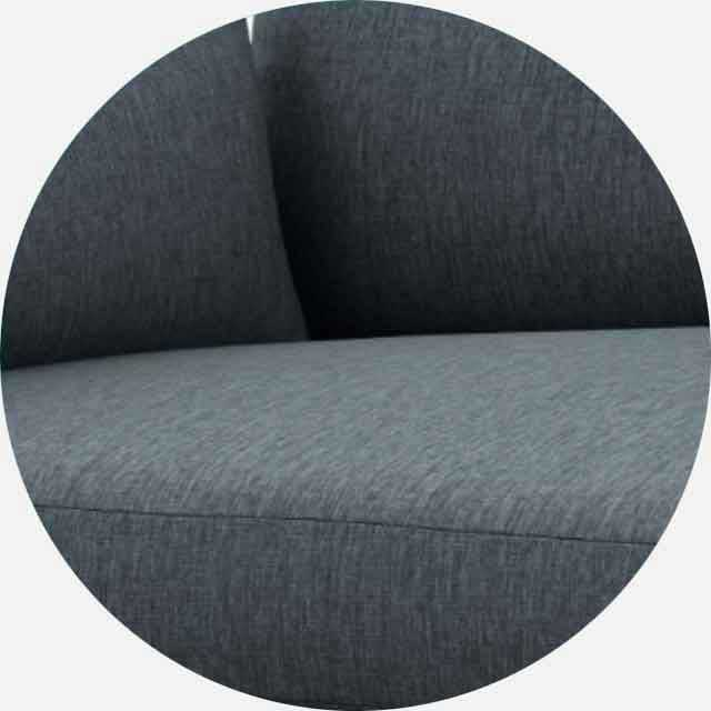 Charly Sofa: Depth