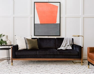 Jason Wu Sofa on display at the Interior Define Chicago Guideshop