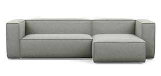 Kids' Right Chaise Sectional