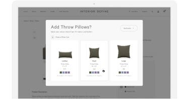 Throw Pillows: Add Pillows