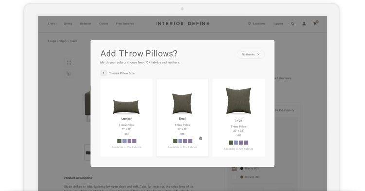Throw Pillows: Add Pillows