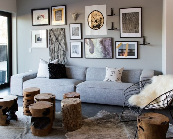 Gray Sofa | Private Residence