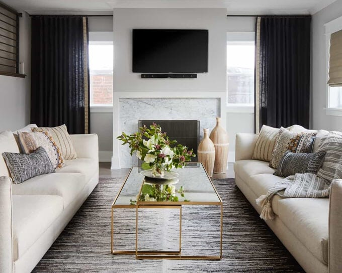 Harper Sofa | Private Residence
